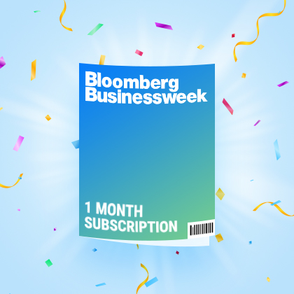 Bloomberg誌の1ヶ月購読